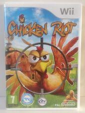 Nintendo Wii Chicken Riot *** COMPLETE *** PAL 2 Wii