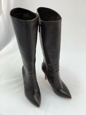 Halston Heritage Leather Boots - Brown, Women's UK 3/ EU 35.5 /US 5.5