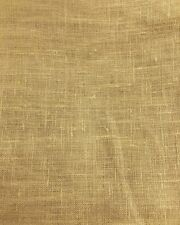 Honey Gold 100% Linen Fabric (60 in.) Sold By The Yard