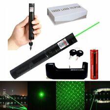 10miles Laserpointer Grün Präsentation 1mw 532NM 303 Laserlicht +Akku