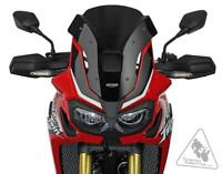 MRA Motorcycle Windshield For Various Honda Africa Twin | Sport Screen - Smoke