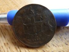 1858 L'Inde Quarter Anna Coin