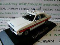PUK6 voiture 1/43 CORGI ATLAS POLICE CARS : FORD Granada Mk I Avon & somerset