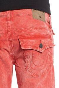 True Religion Men's Geno Slim Fit Triple Needle Corduroy Pants (30, 32, 33)