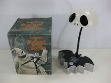 The Nightmare Before Christmas Rare LED Lamp Used w/ Box