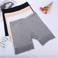 Women Stretch Safety Lace Under Shorts Seamless Leggings Pants Skirt Dress US