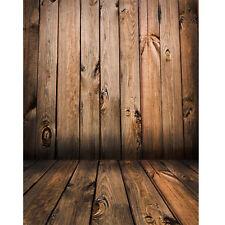 Photo Backdrops Wooden Floor Vinyl Children Photography Background Studio 5X7FT