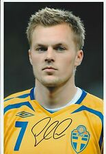 SEB LARSSON SWEDEN INTERNATIONAL 2008- ORIGINAL HAND SIGNED LARGE PHOTOGRAPH