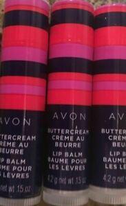 Avon Lip Balm Buttercream Sealed 5 LIP BALMS