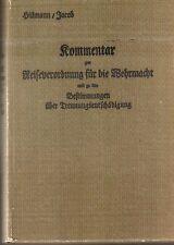 Kommentar zur Reiseverordnung für die Wehrmacht. H.Dv.159...Original 1937