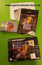 NBA Courtside Basketball Nintendo 64 N64 OVP Sammlung