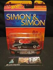Simon & Simon 57 Chevy Bel Air Convertible 2014 Hot Wheels - Retro Entertainment