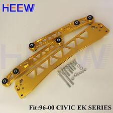 LOWER BRACE CONTROL ARM SUBFRAME EK LCA FOR HONDA CIVIC 96-00 BILLET REAR BWR TT