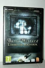 BARON WITTARD L'OMBRA DEL RAGNAROK USATO PC DVD VERSIONE ITALIANA RS2 40652