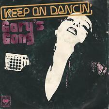 "GARY'S GANG "" KEEP ON DANCIN' / DO IT AT THE DISCO""  7""  ITALY PRESS"