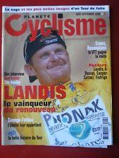 2006 PLANETE CYCLISME n°5 TOUR DE FRANCE LES ETAPES LANDIS