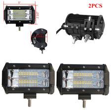 Car Pickup 5'' Inch 72W LED Work Light Bar Flood Driving Lamp with Bracket Mount
