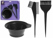 NEW HAIR DYE KIT Brushes And Bowl Set -Tint/Colour/Bleach Home Styling Set