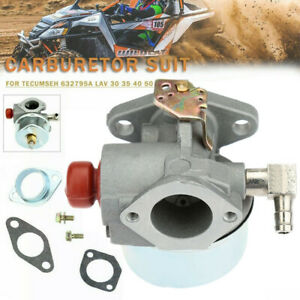 Carburetor Carb for Tecumseh 632795A LAV 30 35 40 50 Lawn Mower Carb Replacement