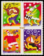 Holiday 2003 Music Makers 3821-24 3824 3824a Block 4 From Sheet MNH - Buy Now