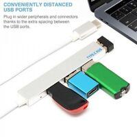 4-in-1-USB-Hub Typ C USB-C-Adapter Multi-Ports mit 4 USB 3.1-Port-Macbooks