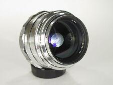 Jupiter-9 White 2/85 mm M39 lens s/n 6605112 (exc+) CLA