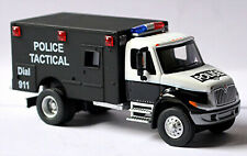 International 4200 Police Tactical - Ford Blu Diamond Camion 1:87 Schuco 21806