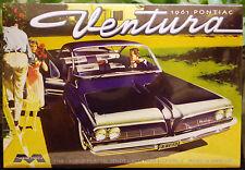 1961 Pontiac Ventura, 1:25, Moebius 1211 nuovo strumento 2016, per la prima volta NUOVO NUOVO