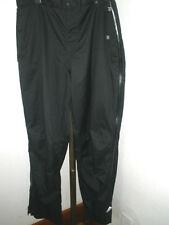 Men's Adidas Climaproof Storm Black Full Leg Zip Golf Outdoors Pants Sz XL MINT