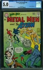 Brave and the Bold #55 CGC 5.0 -- 1964 -- Metal Men and Atom #2004939015