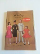 1960's The Littlechap Family by Remco Book Original to The Doll