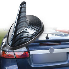 Saab Style Shark Fin Antenna Universal Fit Carbon Fiber Pattern Static Dummy