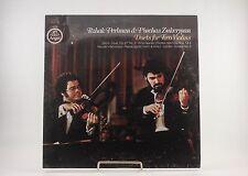 LP: ITZHAK PERLMAN & PINCHAS ZUCKERMAN Duets for Two Violins SEALED