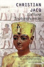 L'affaire Toutankhamon.Christian JACQ.Succes du Livre J003