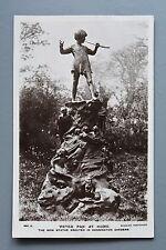 R&L Postcard: London, Kensington Gardens Peter Pan Statue, J Beagles