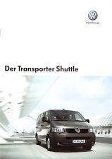 Prospekt / Brochure VW Transporter Shuttle 05/2005