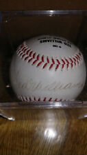 Ted Williams autographed fotoball MLB authenticated Red Sox