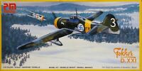 PM Models 1/72 Fokker D.XXI fighter unmade kit sealed bag