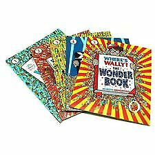 WHERE'S WALLY? SET OF 5 BOOKS by MARTIN HANDFORD FREE SHIPPING NEW