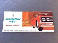 1977 OLDSMOBILE 88 98 442 TORONADO STARFIRE FIRENZA CUTLASS HARRISON AC DECAL