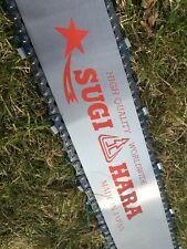 "DR2T-3Q91-A 36"" Pro Solid Sugihara Chainsaw Bar + Oregon Chain Makita DCS 9010"