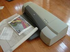 HP DesignJet 110 Plus Large Format Inkjet Printer. mod. C7796D. GOOD!