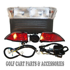 Club Car Precedent Golf Cart Deluxe Headlight Tail & Light Kit  GAS 2004 - Up