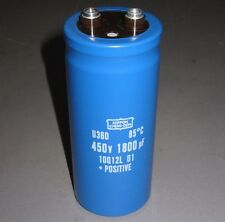 450V 1800uF Electrolytic Capacitors, High-Voltage,NEW IN BOX 60% Off Dist Price!