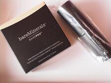 "!!! bareMinerals  ""BarePRO"" -  Foundation 10g -"" WARM LIGHT 7""  &  Core Pinsel"