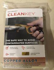 KEYSMART CLEANKEY BRASS DOOR OPENER  NO TOUCH TOOL