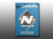 Original Old School 1988 Nishiki Multi Speed & Coaster bicycles, owners manual