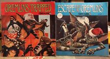 GREMLINS BOOK & 45 LP RECORD LOT STORY 3 & 4 - Used