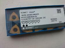 10 Komet carbide inserts  W29 42030.046425 ( WOEX080404-03 grade BK6425 unisix