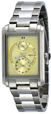 Kenneth Cole Reaction KC3785 Men's Rectangular Gold Dial Multifunction Watch